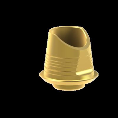 szögkorrekciós titán bázis elfordulásgátló nélkül