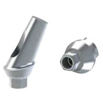 25° fokos szögkorrekciós implantátum felépítmény 1mm szulkusz