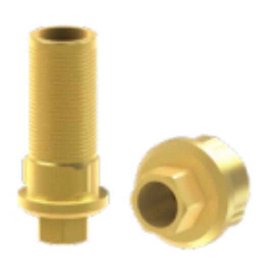 titán bázis elfordulásgátlós - 1,5 mm szulkusz