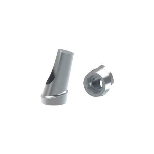 15° fokos szögkorrekciós implantátum felépítmény 1mm szulkusz