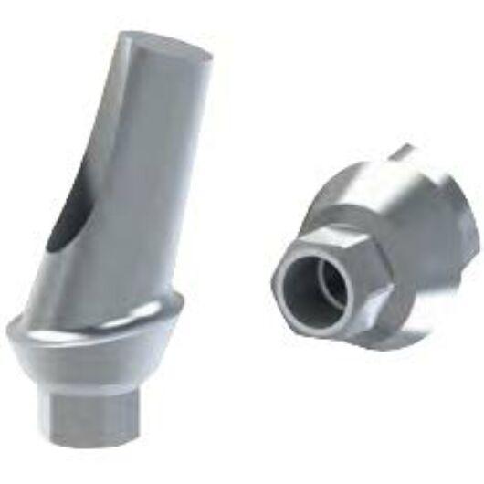 15° fokos szögkorrekciós implantfelépítmény 1mm szulkusz